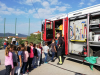 Evakuacija in obisk gasilcev v Tomaju